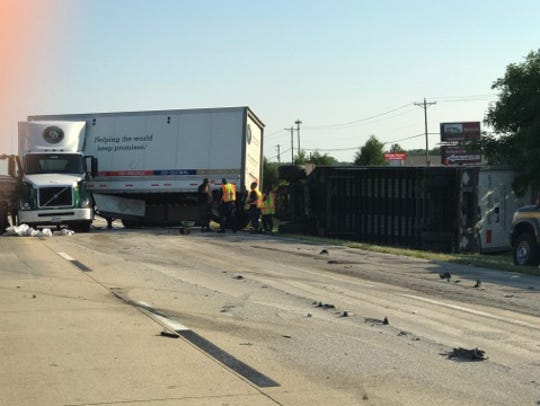Delaware State Police is  investigating a serious crash