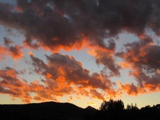 sunset by matt