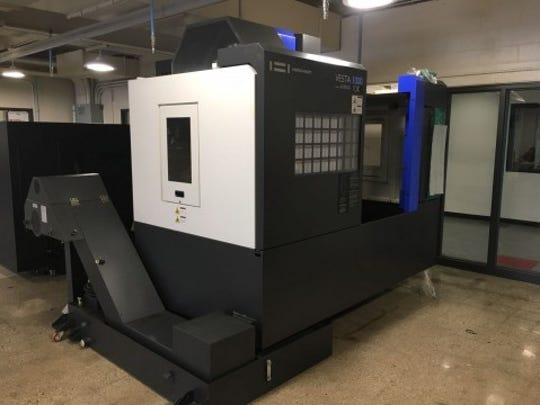 A Hwacheon CNC mill machine was donated to Arrowhead by Premier Machine Tool Midwest, with the help of PW Walsh, Kennametal and Milacron Cimcool.