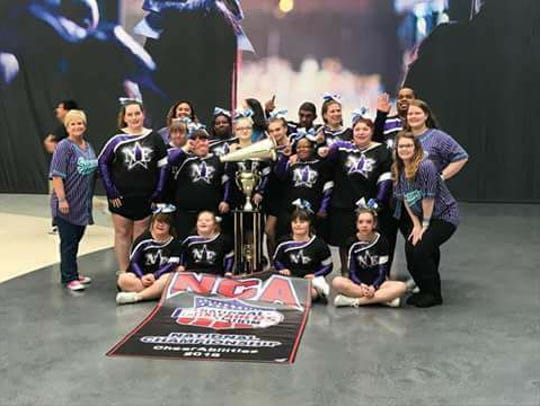 The Nor' Eastern Storm Shooting Stars win a national title.