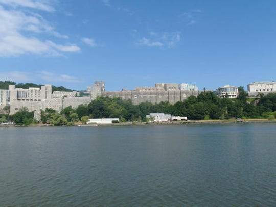 West Point as seen from the Hudson River.