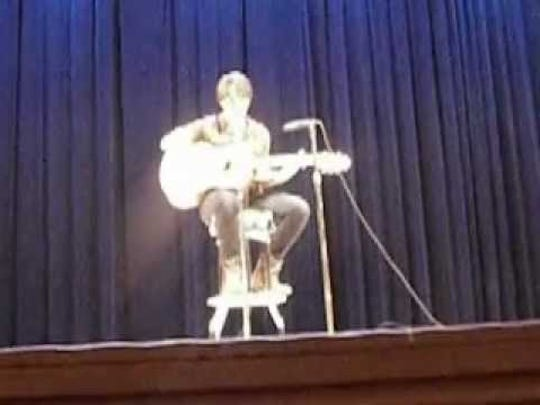 """Maren Sanchez sings a cover of the song """"Home."""""""
