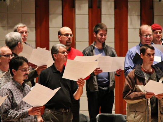 Willamette Master Chorus Veterans Concert will feature patriotic music 3 to 5 p.m. Saturday, Nov. 11, at Hudson Hall at Mary Rogers Music Center, Willamette University 900 State St., Salem.