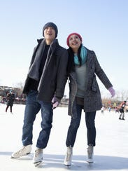 WinterFest Ice Skating Rink at Cooper River Park will
