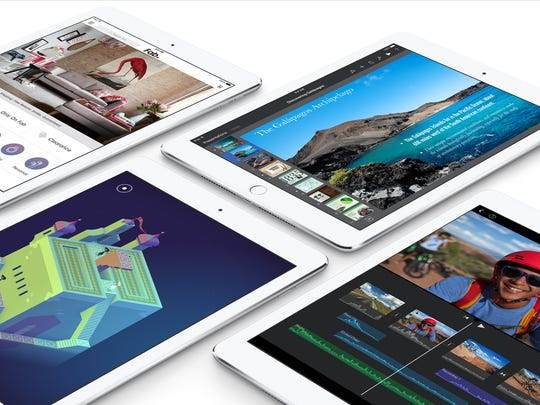 Apple's new iPad Air 2 features a Touch ID sensor and starts at $499.