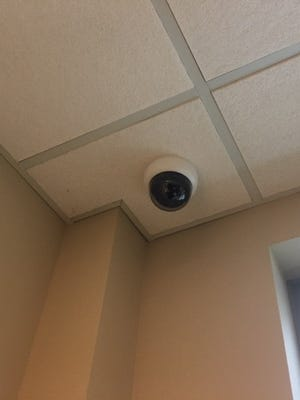 "This ""spy camera,"" as Supervisor Kurt Heise called it, has been removed."