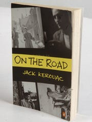 "A paperback edition of Jack Kerouac's ""On the Road"""