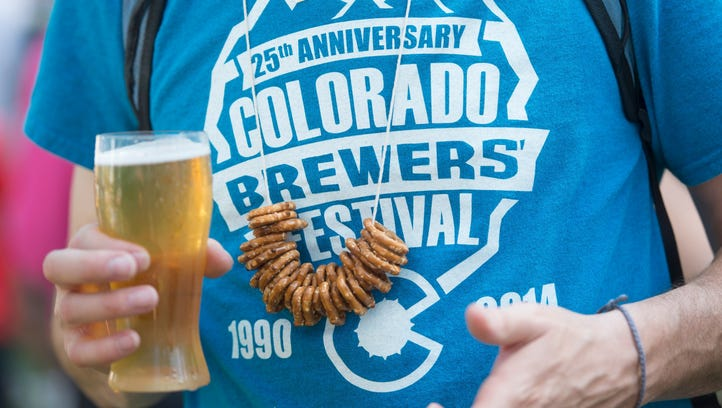 What's new at Colorado Brewers' Festival:  Shaded seating and street taco beer