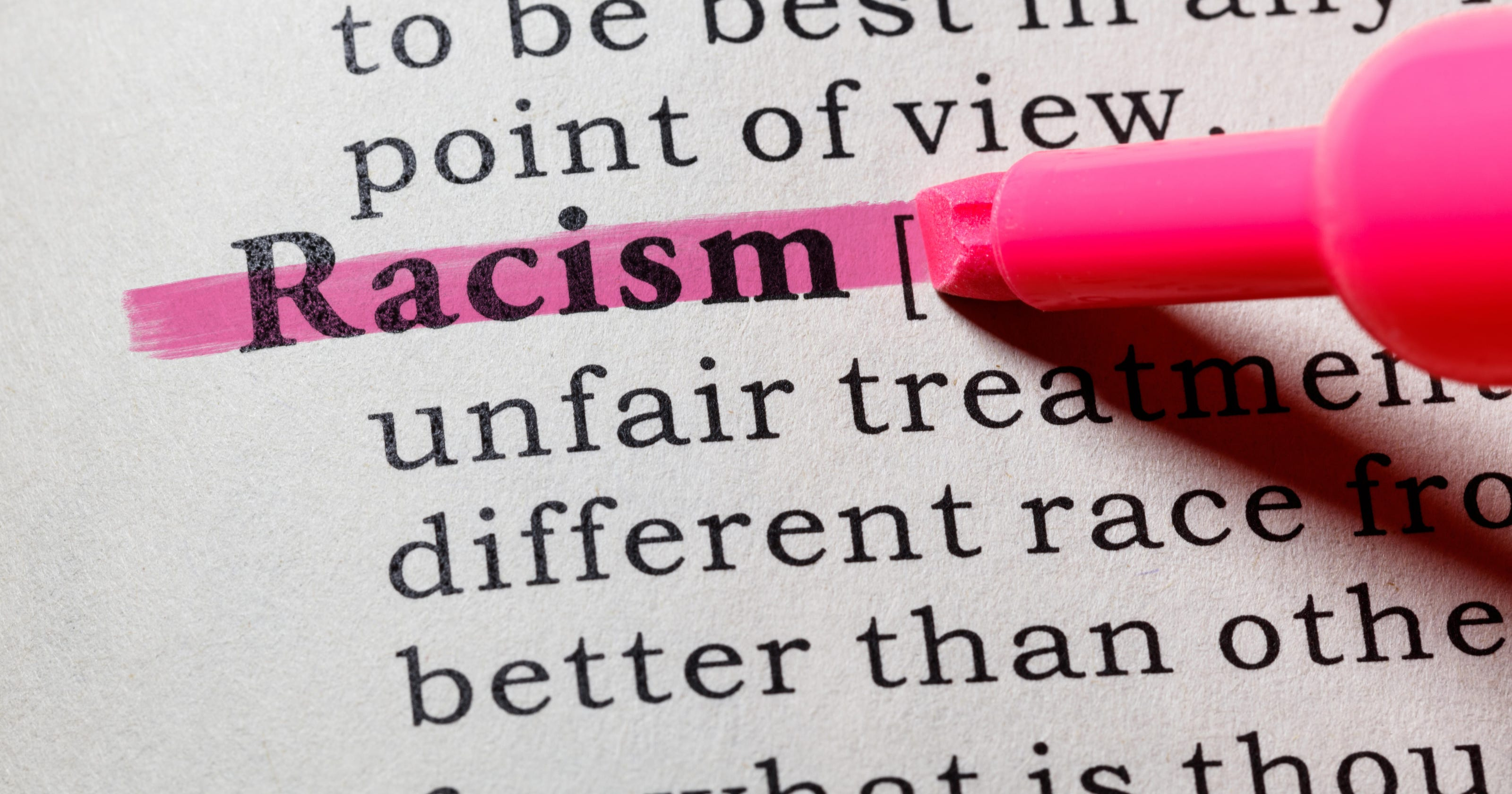 Pretending racism doesn't exist isn't working. Time to