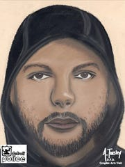 Detroit Police are looking for this man who is suspected of being involved in a robbery and rape on July 11.