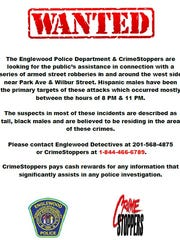 A flyer being distributed by Englewood Police.