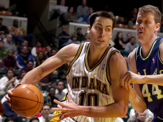 A rookie in 2000, Jeff Foster didn't play in the Finals.