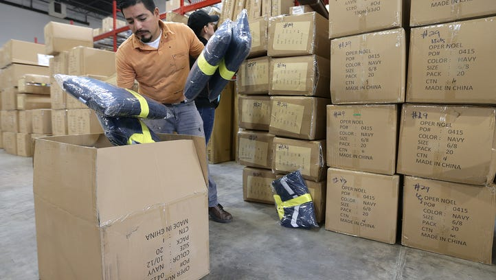 25,000 coats from Operation Noel to warm children