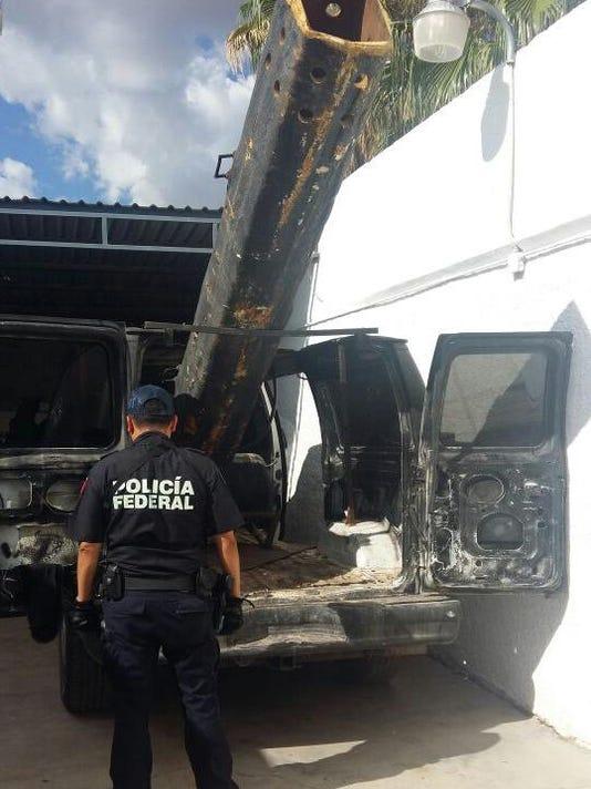 Mexico Border Smuggling Cannon
