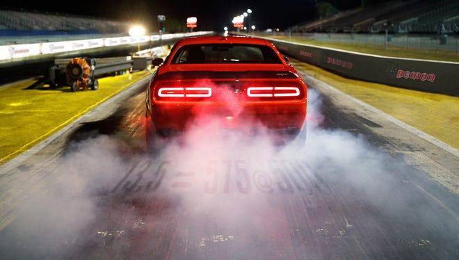 The 2018 Dodge Challenger SRT Demon.