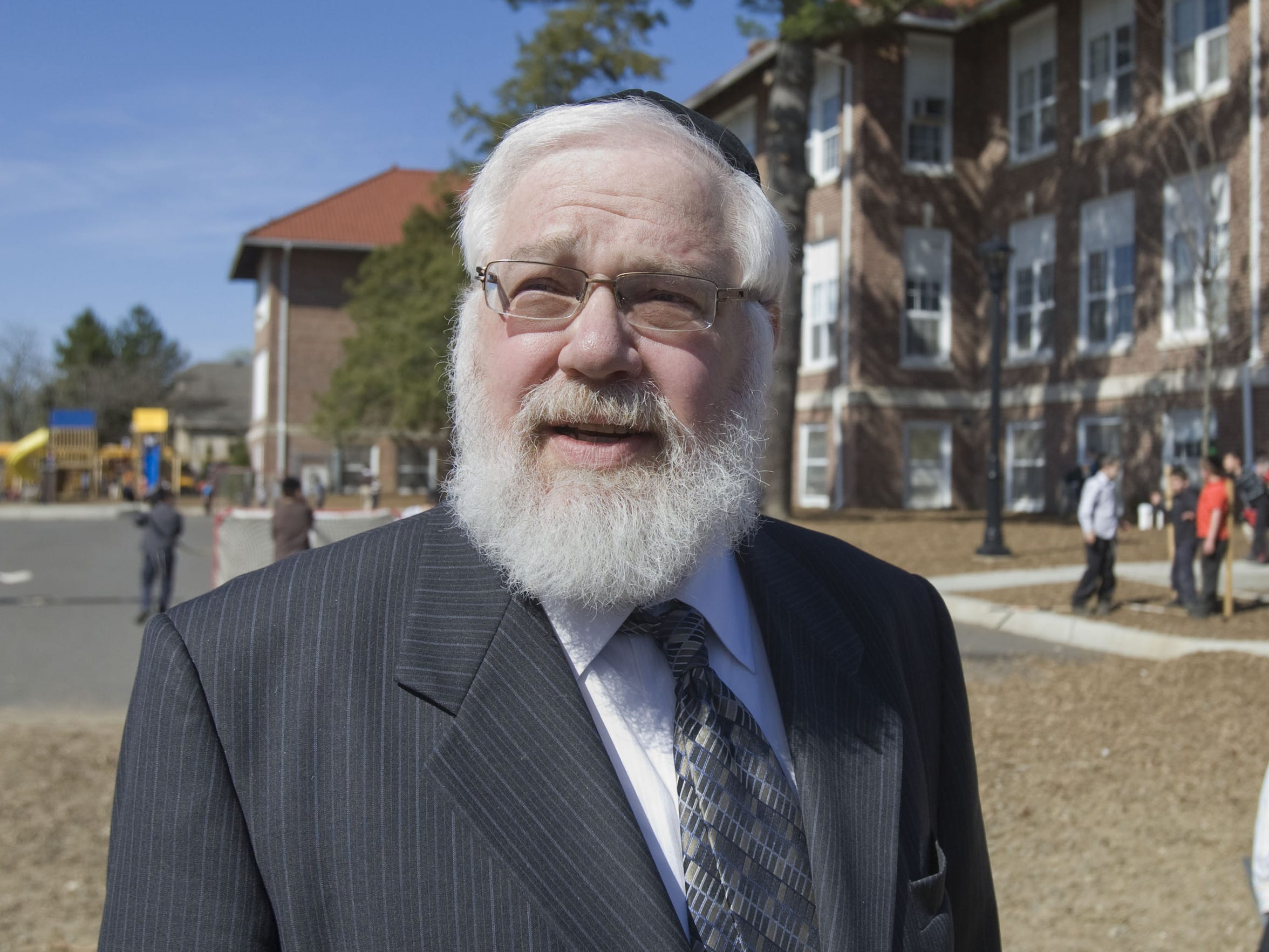 Rabbi Meir N. Hertz, dean of the Tashbar school in