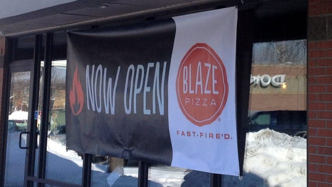 Blaze Pizza will fulfill a give-away promotion on Tuesday and Wednesday.