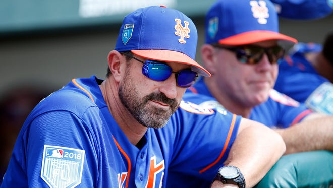 Mets manager Mickey Callaway.