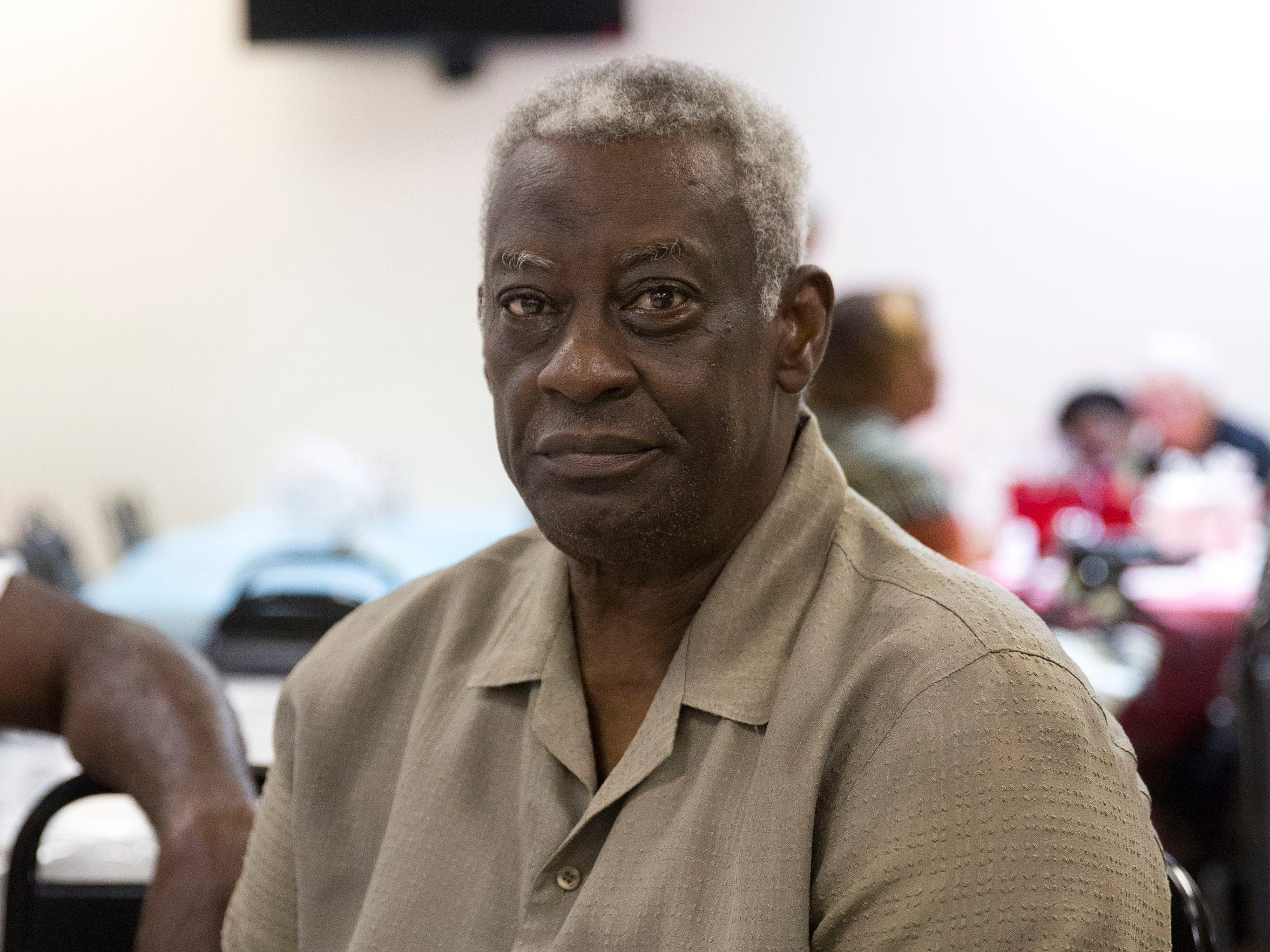 Charles Thornton, 72, a retired military member and