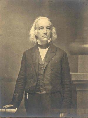 Sen. Daniel S. Dickinson, of Binghamton, around 1850.