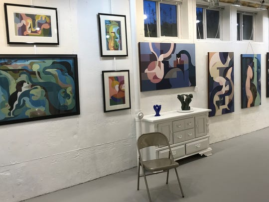 Bill Weidner has opened an art gallery of local artists,