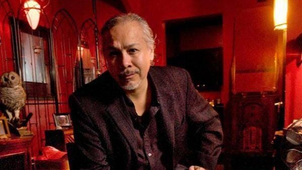 Sam Llanas gives an intimate house concert March 29 at the Holiday Music Motel's Tambourine Lounge in Sturgeon Bay.
