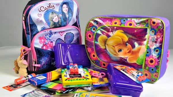 Shop for backpacks and school supplies during tax-free weekend Friday-Sunday.