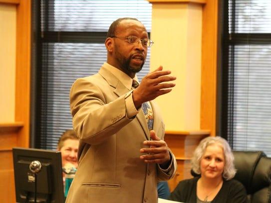 Damion Tall said at his Ottawa County Drug Court graduation