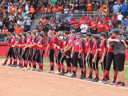 Lakota West watches Perry accept its state championship