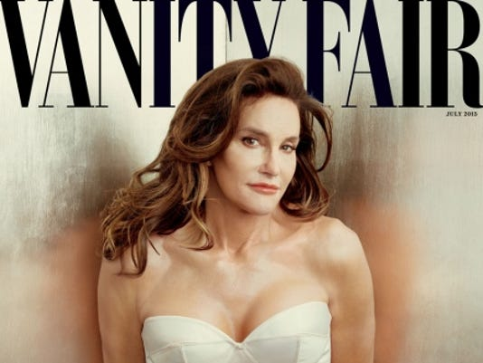 Caitlyn Jenner is featured on the cover of Vanity Fair.