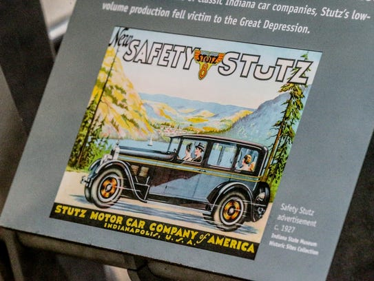 A Safety Stutz AA Four Door Sadan from 1927 purchased