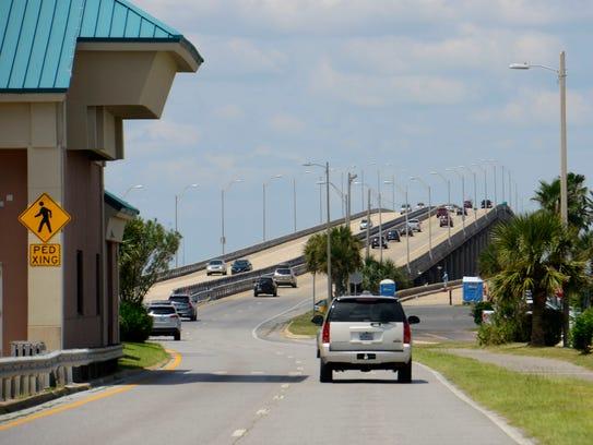 Bob Sikes toll bridge.