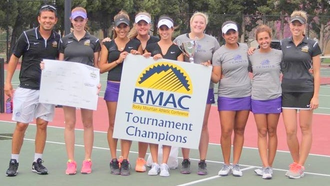 The Western New Mexico University women's tennis team won the conference tourney with a 5-3 win over Colorado Mesa University over the weekend.