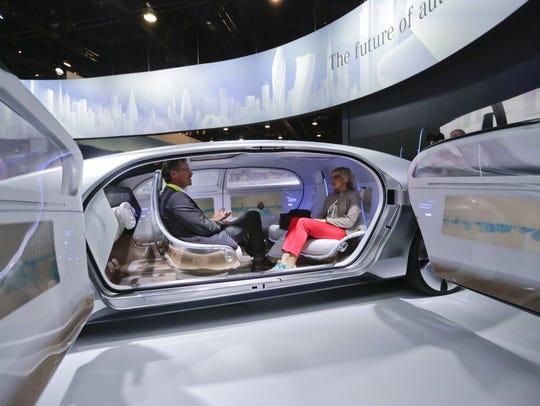 Mercedes-Benz unveiled its autonomous-car prototype