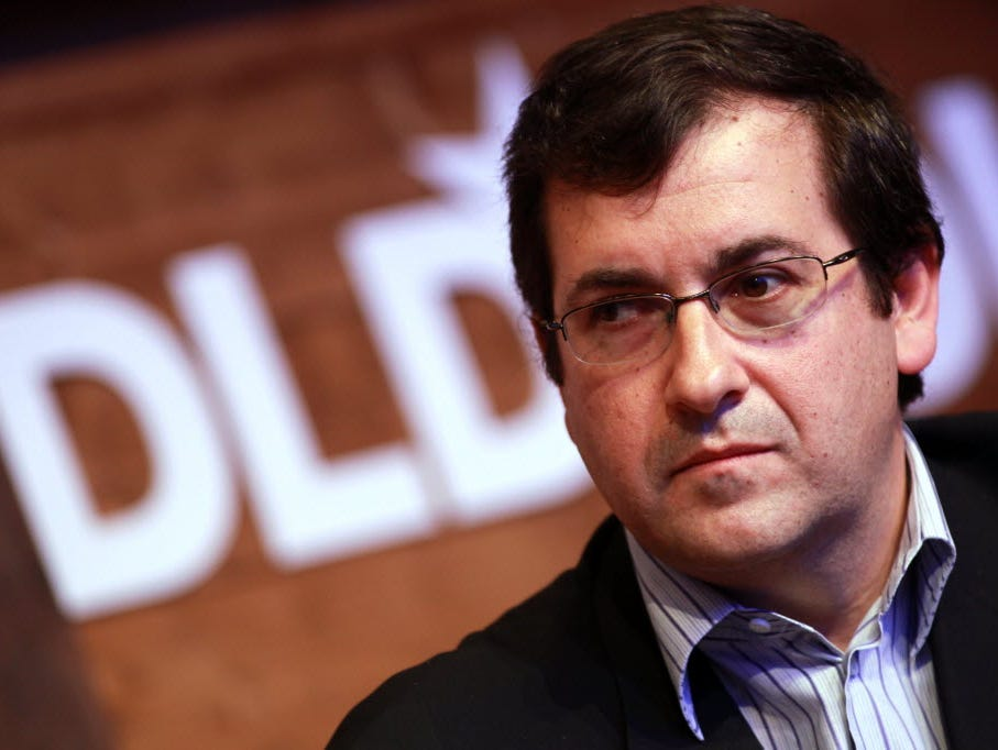 SurveyMonkey CEO Dave Goldberg, who died suddenly in May, will be replaced by former Microsoft and Hewlett-Packard executive Bill Veghte. Goldberg is seen here speaking at the Digital Life Design conference (DLD) at HVB Forum on January 23, 2012 in M