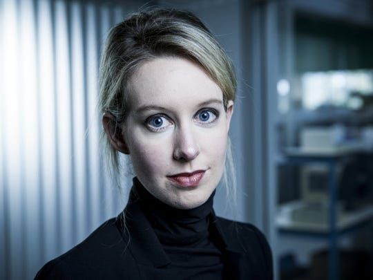 Elizabeth Holmes, founder and CEO of Theranos, which