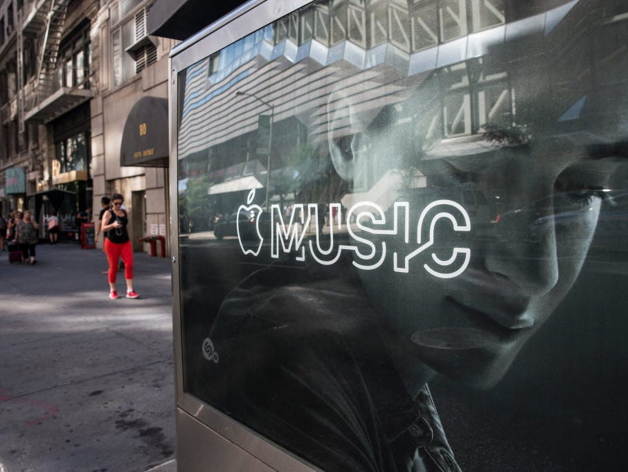 Apple Music, which launched in late June, will convert from a free trial to a $10 a month service in October.