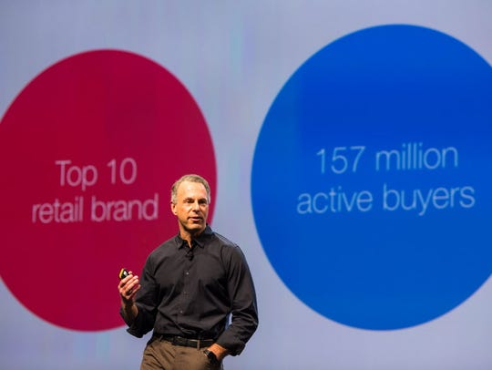 At a recent meet-up for 1,000 eBay sellers, new CEO