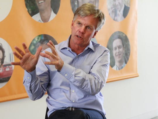 Ron Johnson is CEO of Enjoy, and was instrumental in