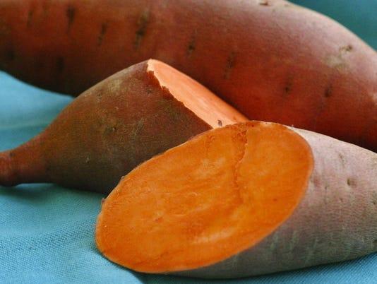 orange flesh sweet potato