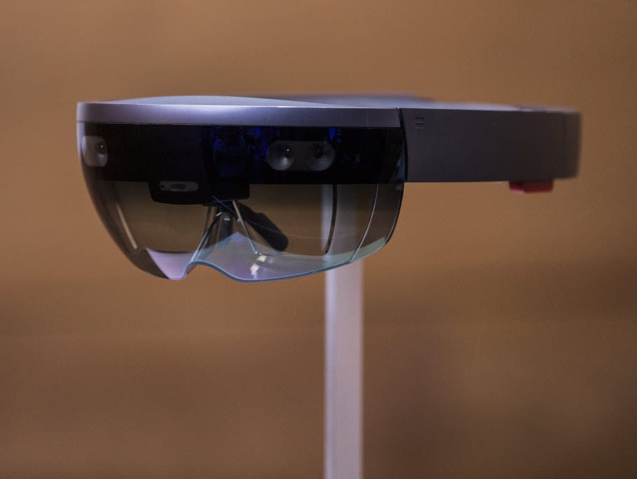 Microsoft's forthcoming HoloLens is said to combine the virtues of both AR and VR tech.