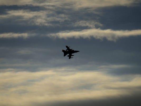 Britain launches Syria airstrikes