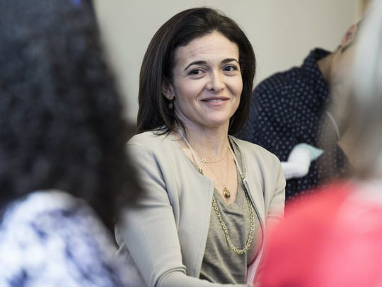 Sheryl Sandberg, Facebook's COO, reflected on her late