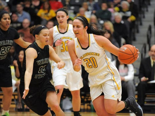 Neillsille native Jenny Lindner is averaging 13.1 points per game and 5.9 rebounds for the surprising University of Wisconsin-Milwaukee this season.