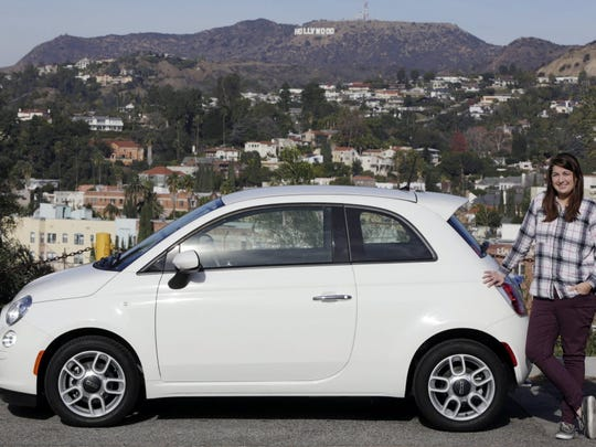 Fiat 500, which looks not unlike Google's self-driving