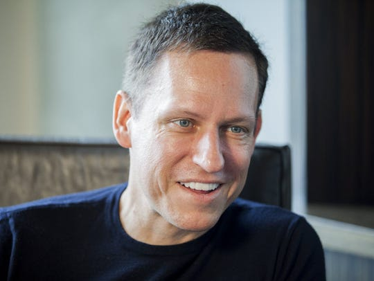 PayPal co-founder Peter Thiel, who recently revealed