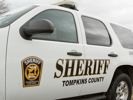 ITH Tompkins County Sheriff's Office vehicle