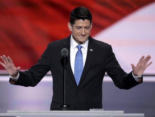 Paul Ryan speaks at 2016 RNC