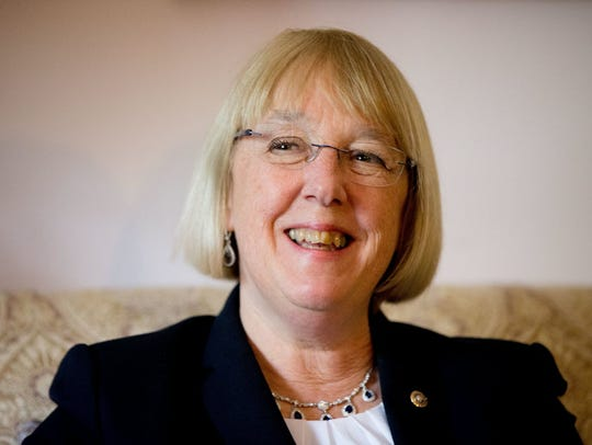 In this April 23, 2015, file photo, Sen. Patty Murray,