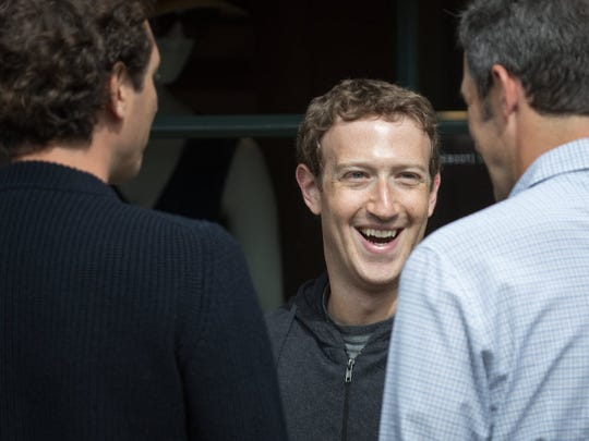 Mark Zuckerberg, chief executive officer and co-founder